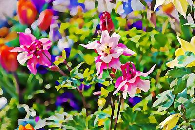 Photograph - Spring Flowers In Germany by Tatiana Travelways