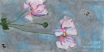 Painting - Spring Flowers  by Reina Resto