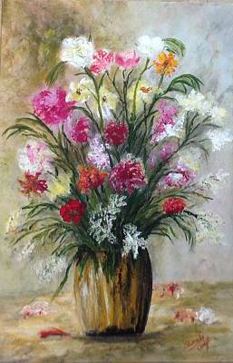 Painting - Spring Flowers by Renate Voigt