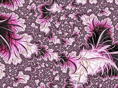 Digital Art - Spring Flowers  by Riana Van Staden