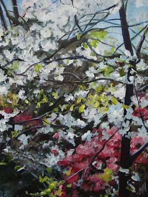 Painting - Spring Foliage by Sheila Holland