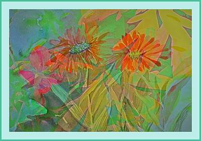 Mixed Media - Spring Forward by Mindy Newman