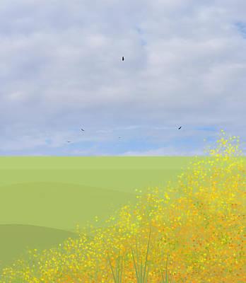 Digital Art - Spring Fun by Val Arie