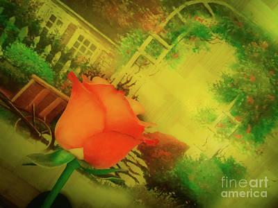 Photograph - Spring Garden by Camille Pascoe