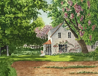 Painting - Spring Garden by Don Bosley