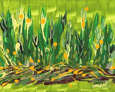 Painting - Spring Garden by Holly Carmichael