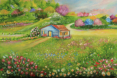 Painting - Spring Garden House by Alicia Maury
