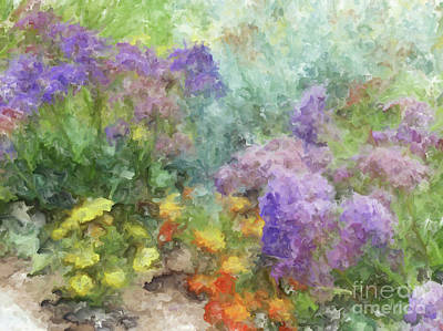 Painting - Spring Garden by Methune Hively