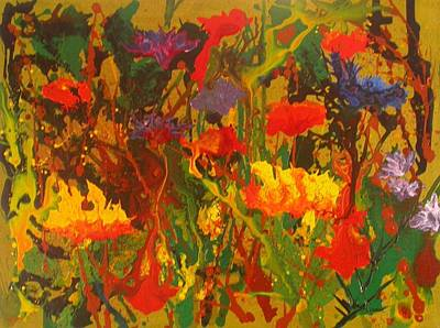 Painting - Spring Garden by Phil Davis