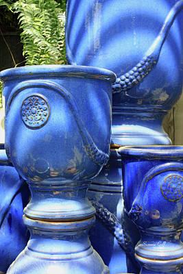 Ceramics Photograph - Spring Garden Series Iv by Suzanne Gaff