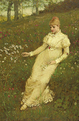 Painting - Spring by George Henry Boughton