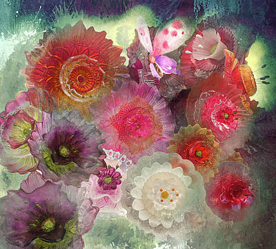 Art Print featuring the photograph Spring Glass by Jeff Burgess