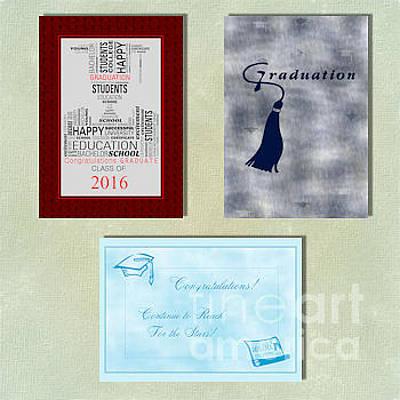 Digital Art - Spring Graduation by JH Designs