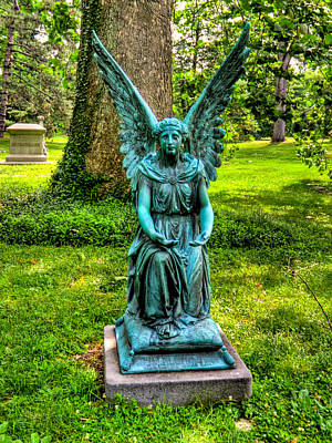 Photograph - Spring Grove Angel by Jonny D