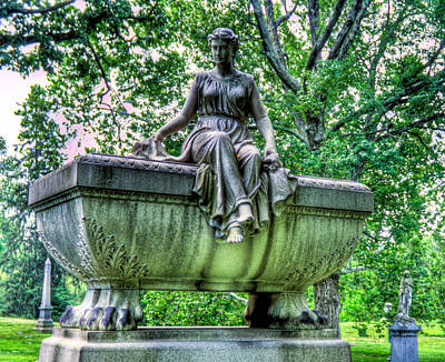 Photograph - Spring Grove Cemetery by Jonny D