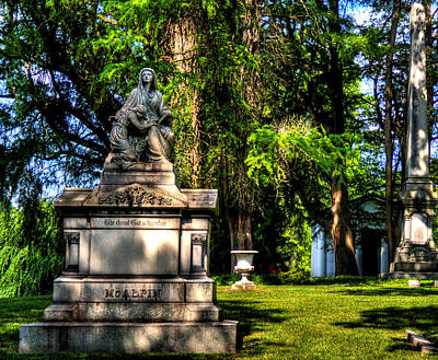 Photograph - Spring Grove Cemetery Site by Jonny D