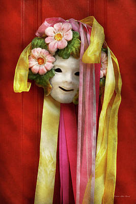 No Face Doll Photograph - Spring - Harbinger Of Spring by Mike Savad
