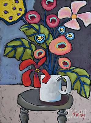 Still Life Pastel - Spring Has Sprung by David Hinds