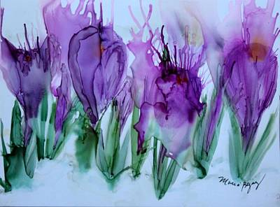 Painting - Spring Has Sprung by Marcia Breznay