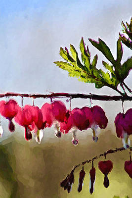 Photograph - Spring Hearts by Modern Art