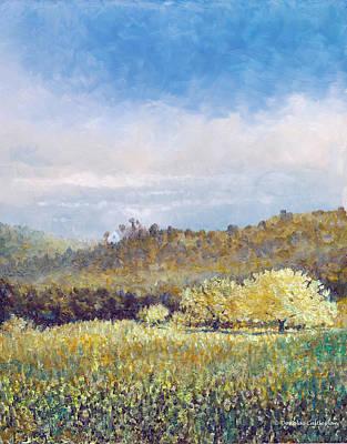Painting - Spring Hills Rancho Palos Verdes by Douglas Castleman