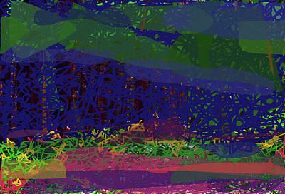 Digital Art - Spring Homage To Jackson by Walter Fahmy