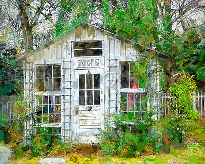 Photograph - Spring House by Larry Bishop