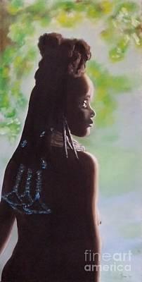 Painting - Spring In Africa by Annemeet Hasidi- van der Leij