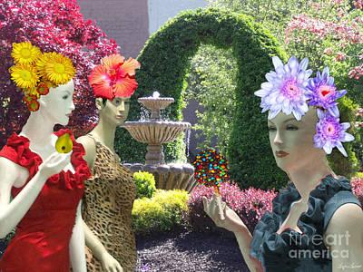 Digital Art - Spring In Bloom by Lyric Lucas