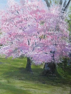 Art Print featuring the painting Spring In Bloom by Trilby Cole