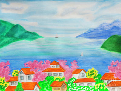 Painting - Spring In Bulgaria by Irina Afonskaya
