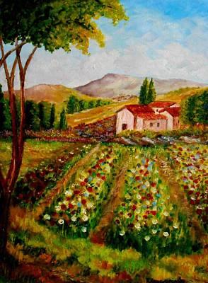 Spring In France Art Print