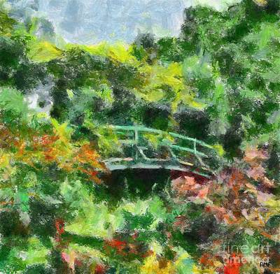 Spring In Giverny Art Print