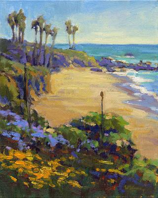 Painting - Spring In Heisler Park / Laguna Beach by Konnie Kim