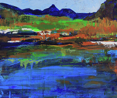 Painting - Spring In High Country by Walter Fahmy