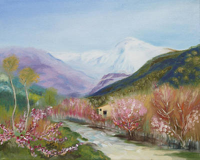 Painting - Spring In Italy by Elena Antakova