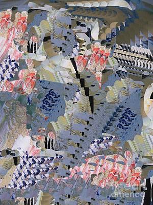 Digital Art - Spring In Japan by Nancy Kane Chapman