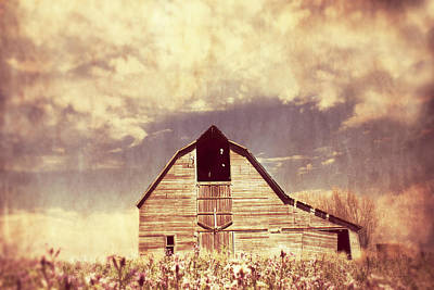 Country Cottage Photograph - Spring In Kansas  by Julie Hamilton