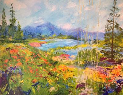 Painting - Spring In North Georgia by Barbara Pirkle