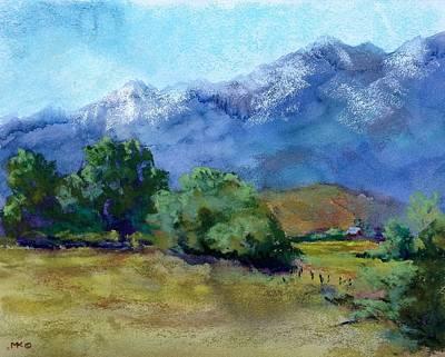 Pastel - Spring In Prairie City by Marlene Kingman