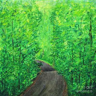 Painting - Spring In The Catskills Painting by Kristen Fox