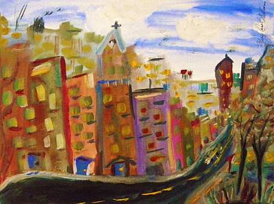 Painting - Spring In The City by Mary Carol Williams