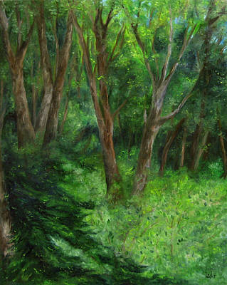 Painting - Spring In The Forest by FT McKinstry