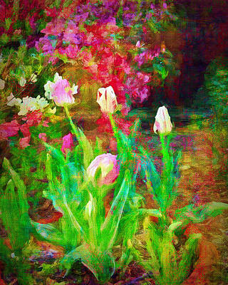 Photograph - Spring In The Garden by Larry Bishop