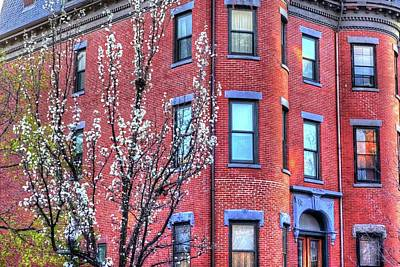 Photograph - Spring In The South End Boston Ma by Toby McGuire