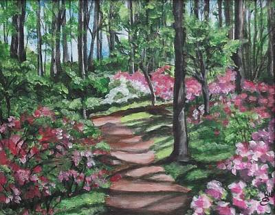 Painting - Spring In The Woods by Kim Selig