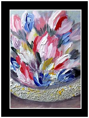 Painting - Spring In Winter by Claudia Santiago