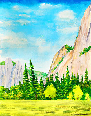 Painting - Spring In Yosemite Valley by Douglas Castleman