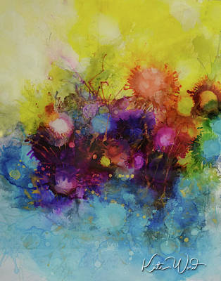 Painting - Spring Into Summer by Kate Word
