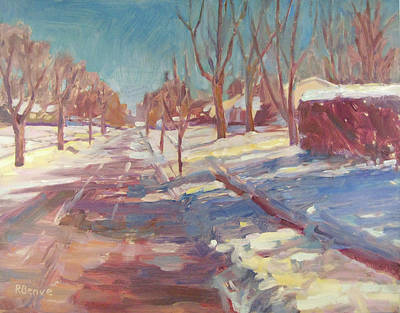 Painting - Spring Is Around The Corner I Know It by Robie Benve